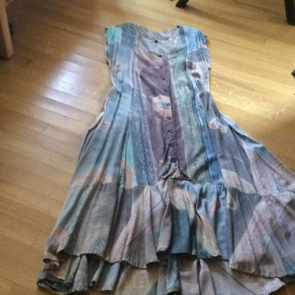96e7ab8a7f2 Handmade Dresses   Skirts - Beautiful handmade rayon batik dress